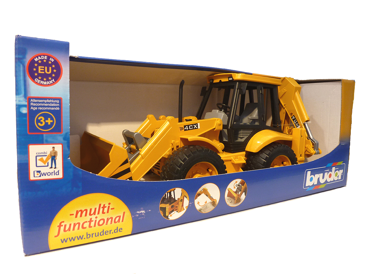 Bruder 12428 Backhoe Loader Toy