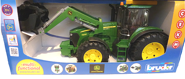 John Deere 7030 Tractor with Loader by Bruder