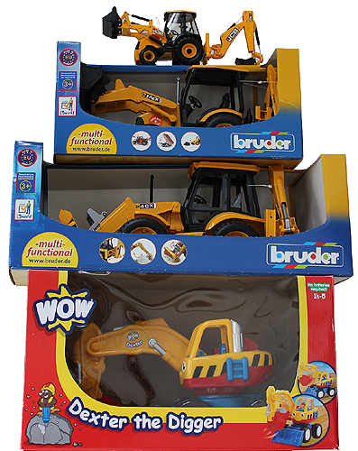 Toy Digger Present Ideas