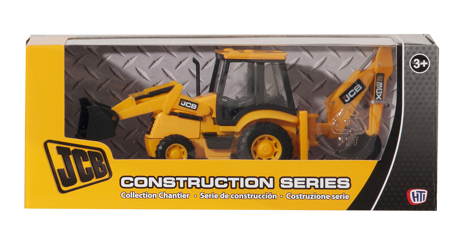 JCB Backhoe Loader Toy by HTI