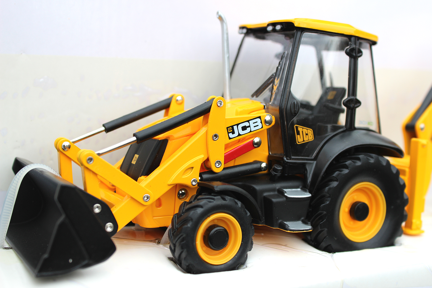 Toy JCB 3CX by Britains