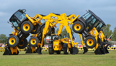 JCB Dancing Diggers Display Team
