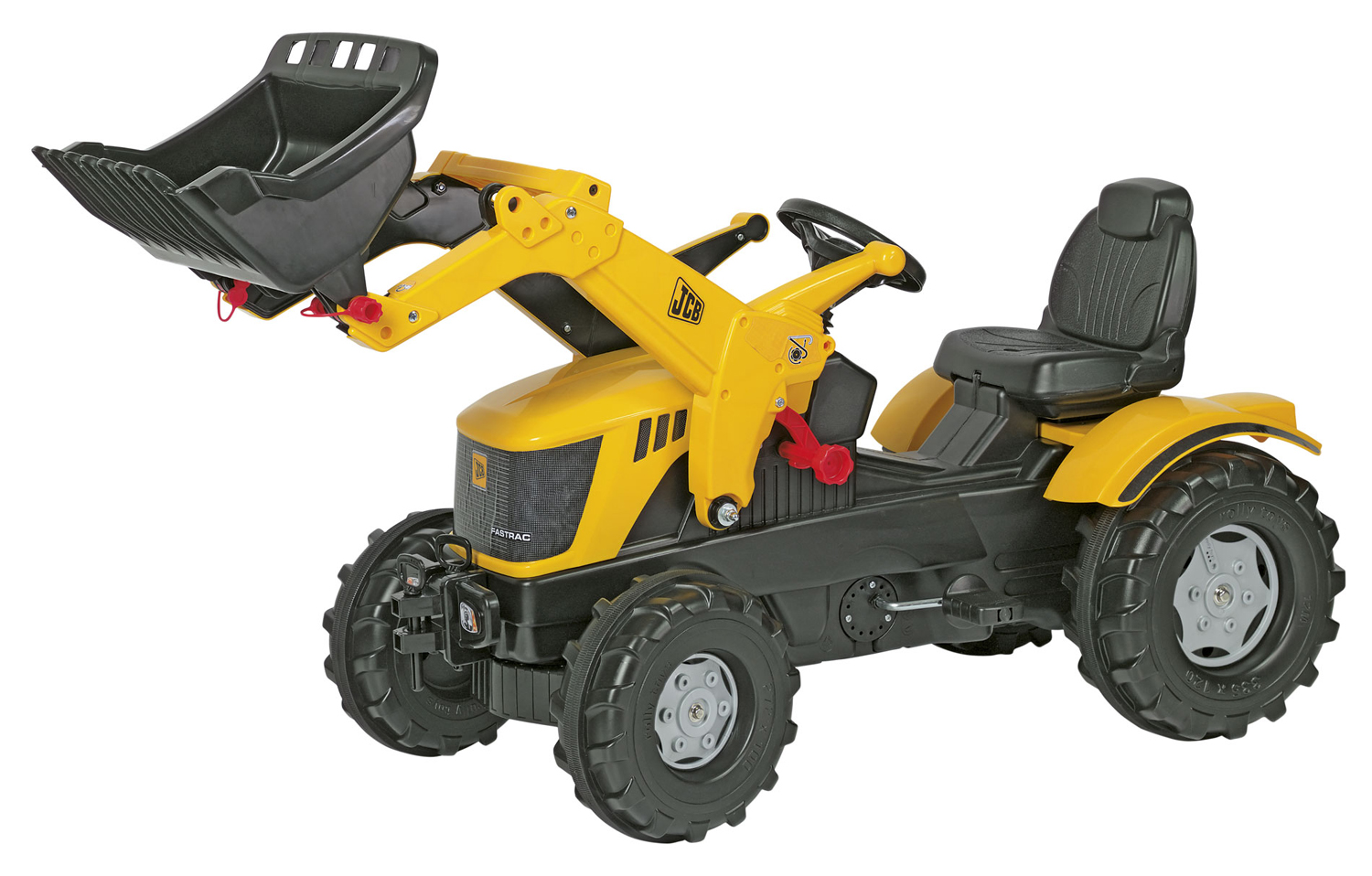 JCB Ride on Digger Toy