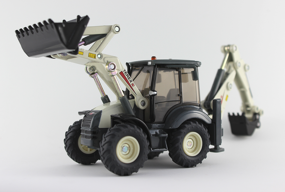 Terex Backhoe Loader by Siku Toys