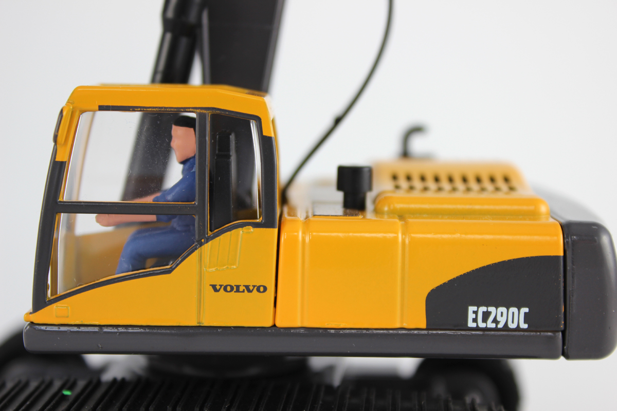 Toy Digger Cab and Driver
