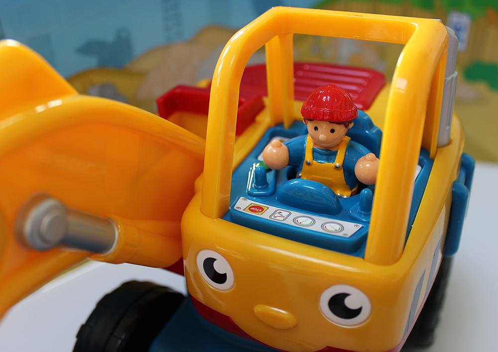 Dexter the Digger Driver's Cab